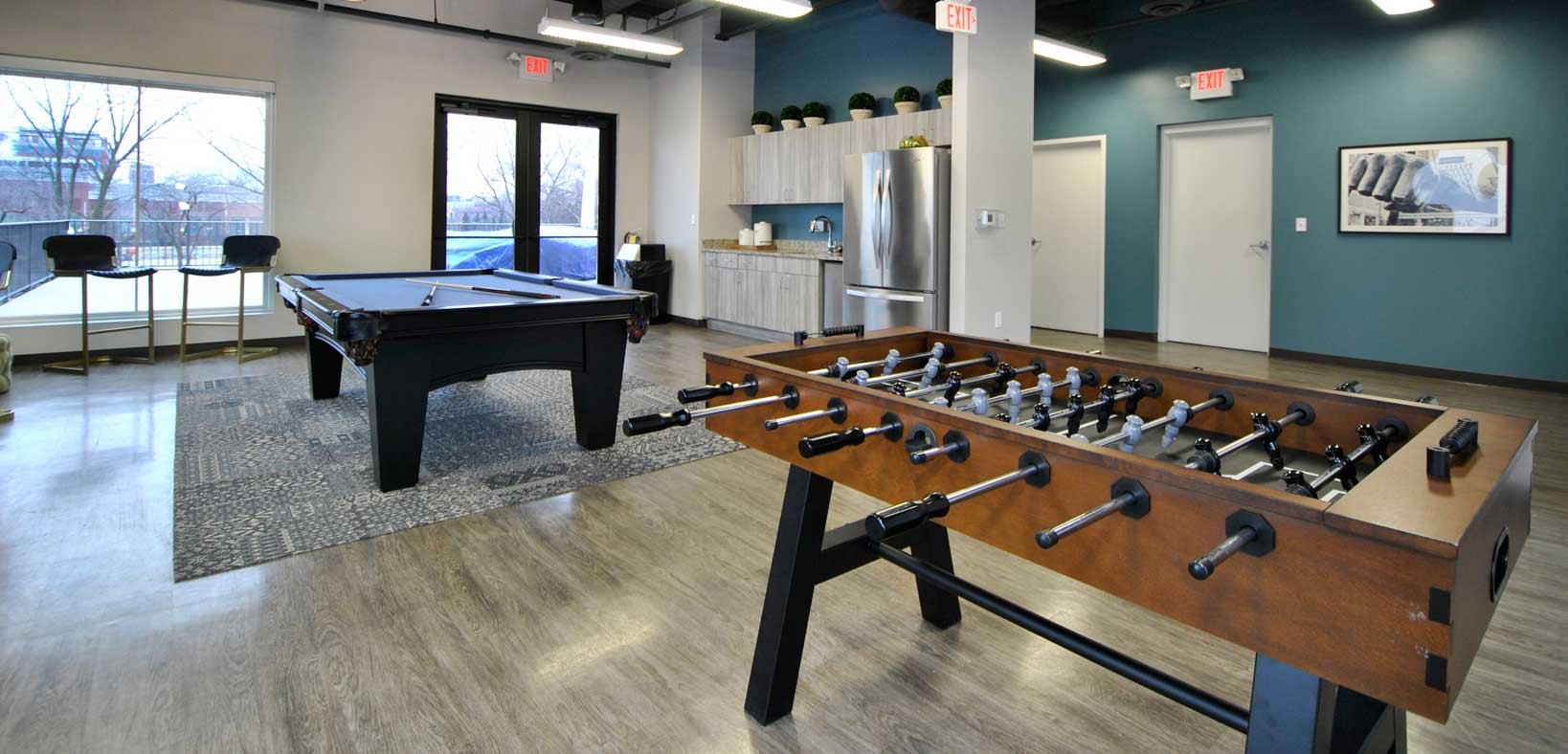 Waters Edge Clubhouse Game Room